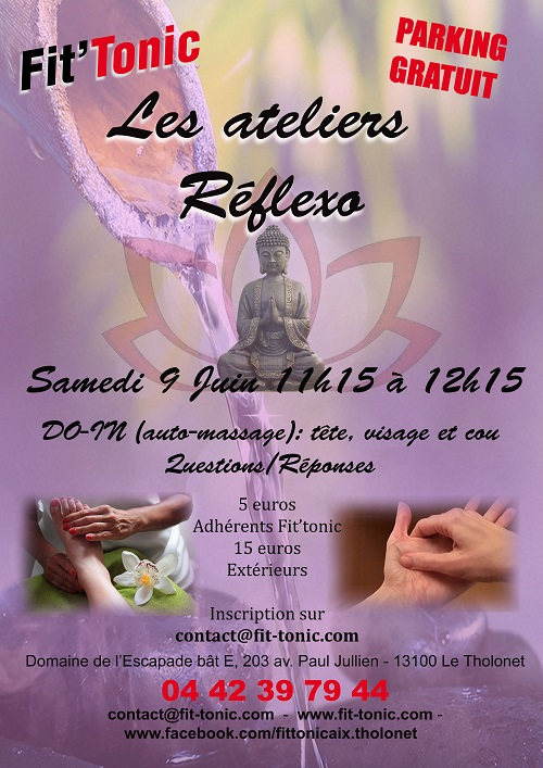 Atelier DO-IN auto-massage samedi 9 Juin 2018